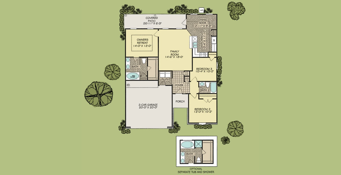 floor plan evangeline