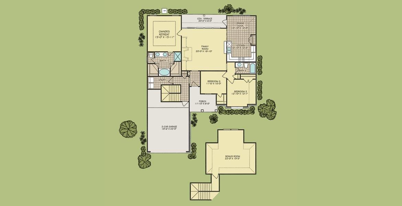 Harmon Bonus floorplan