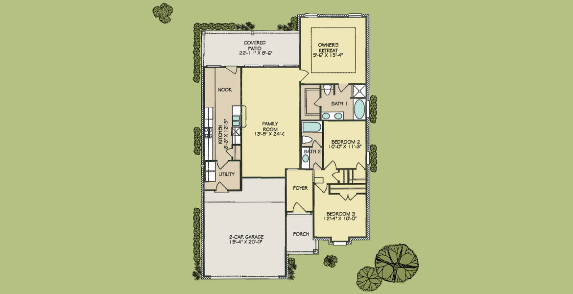 Ravenwood floorplan