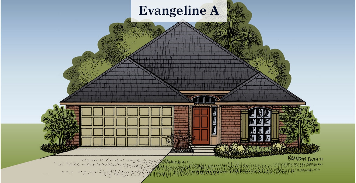 Evangeline A elevation