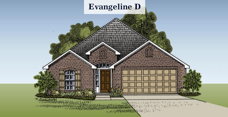 Evangeline D elevation