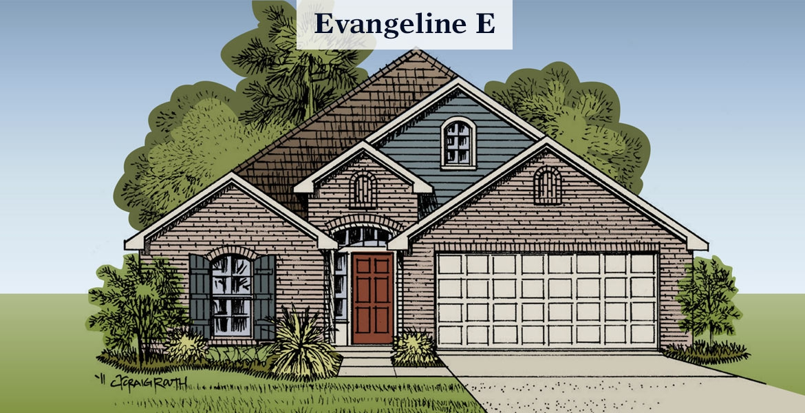Evangeline E elevation