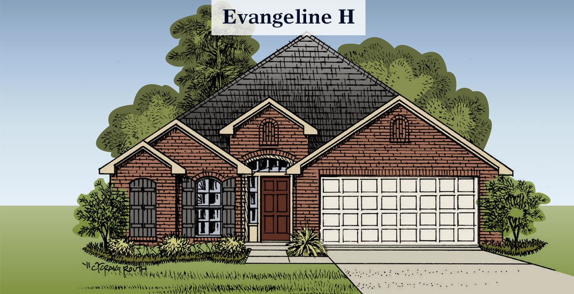 Evangeline H elevation