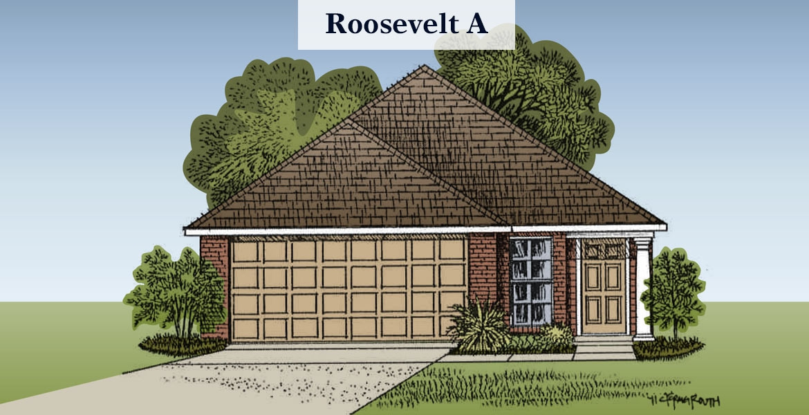 Roosevelt A elevation