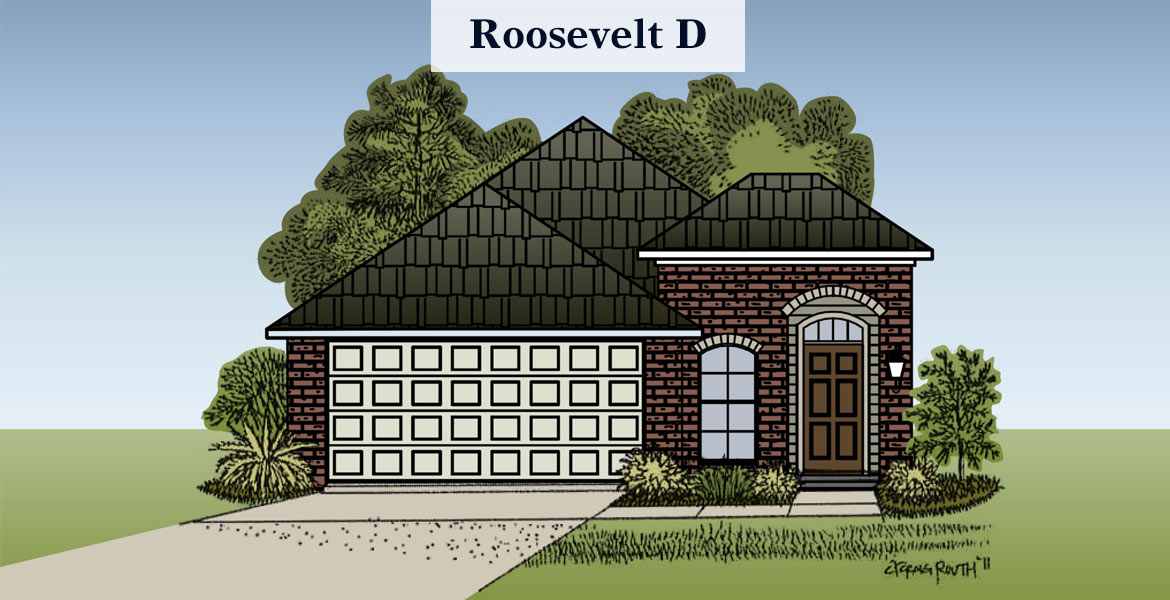 Roosevelt D elevation