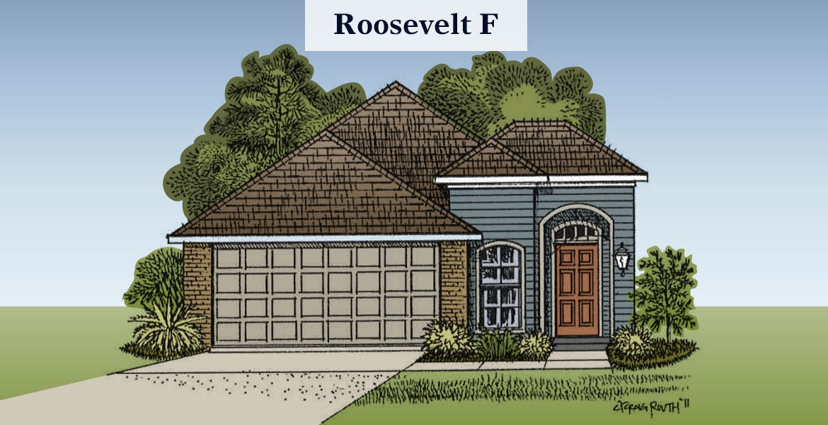 Roosevelt F elevation