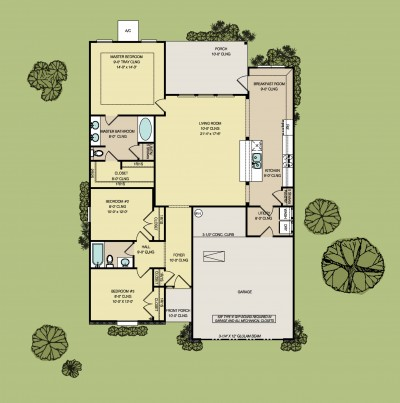 Gretchen floorplan