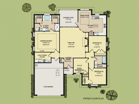 Abby IV floorplan