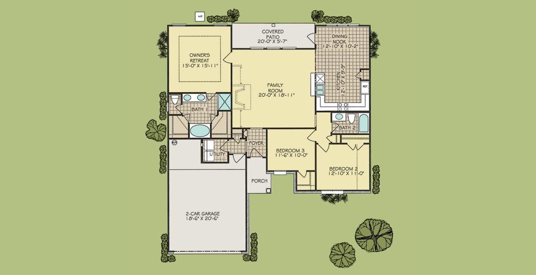 Harmon floorplan
