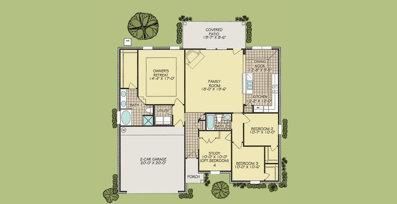 Magnolia floorplan