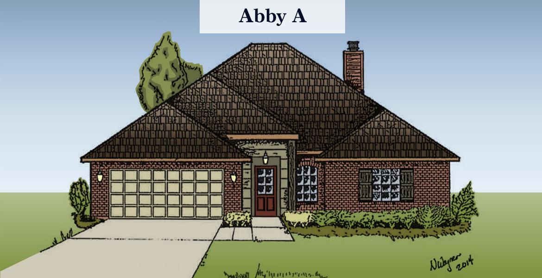 Abby floorplan A