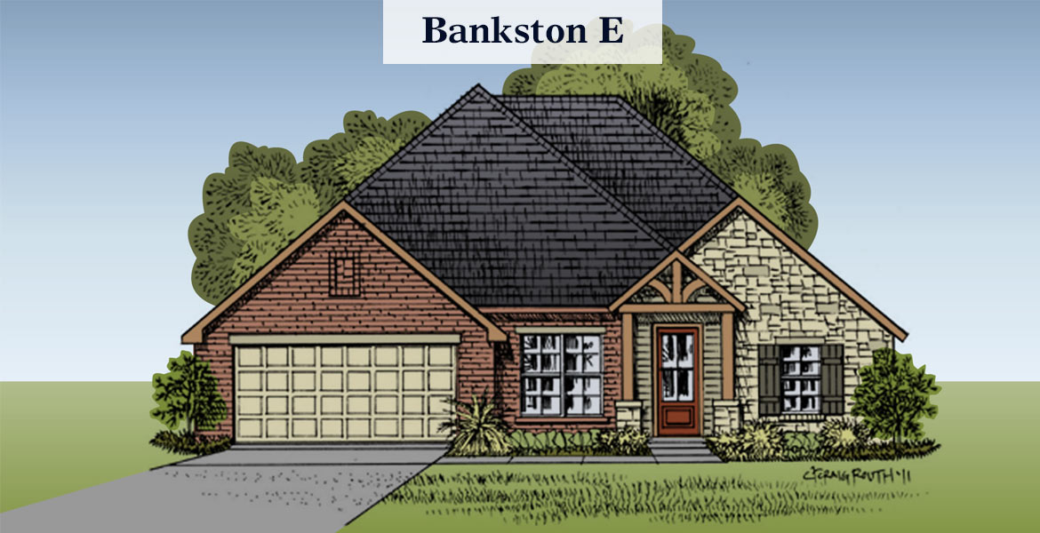Bankston floorplan E