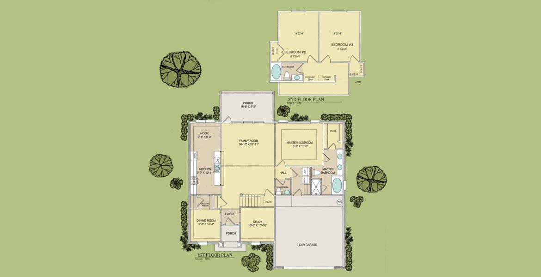 Sabal floorplan