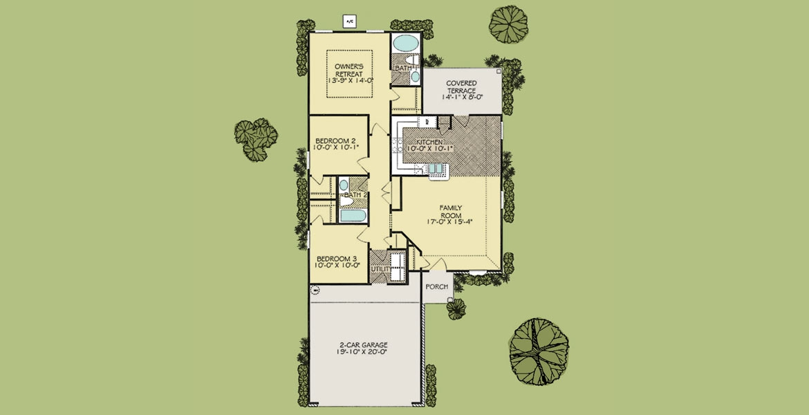 Thornberry floorplan