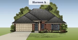 Harmon floorplan A