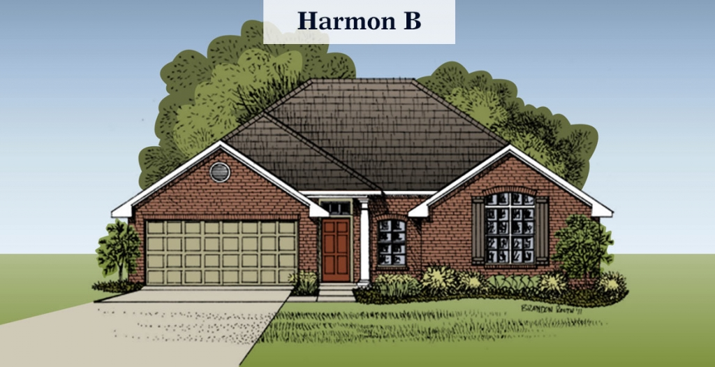 Harmon floorplan B