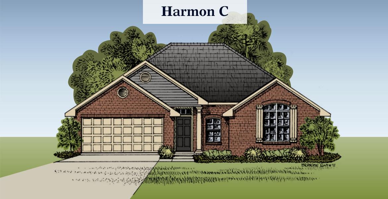 Harmon floorplan C