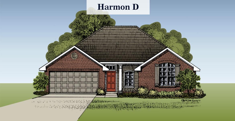 Harmon floorplan D