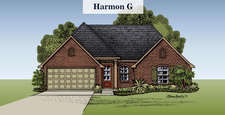 Harmon floorplan G