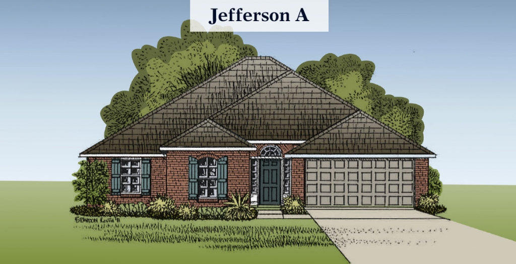 Jefferson floorplan A