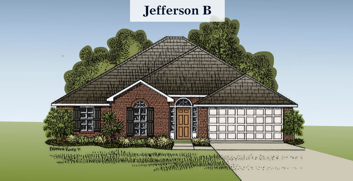 Jefferson floorplan B
