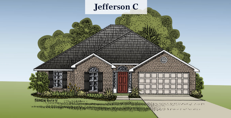 Jefferson floorplan C