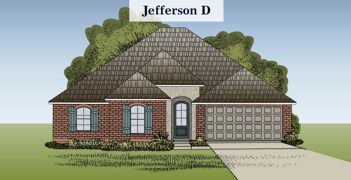 Jefferson floorplan D