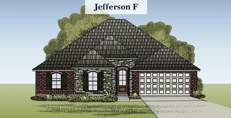 Jefferson floorplan F