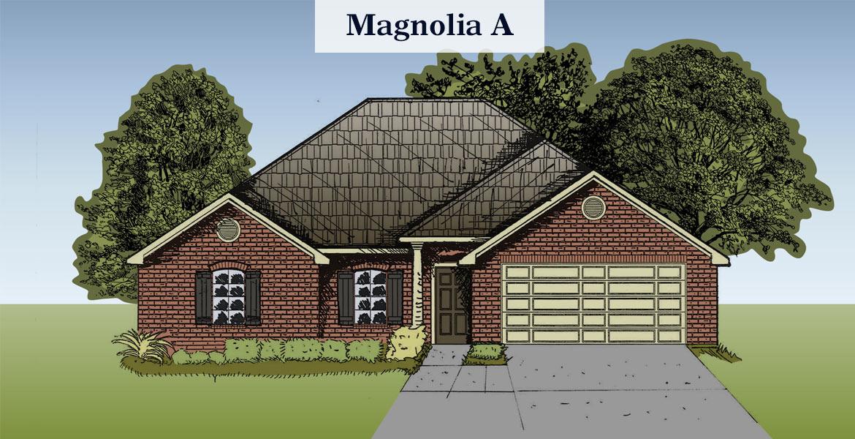 Magnolia floorplan A