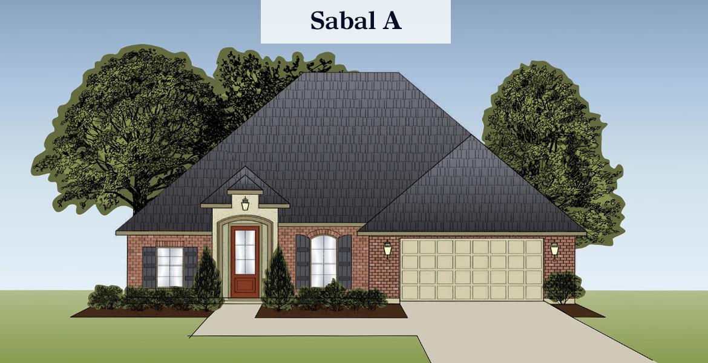 Sabal floorplan A