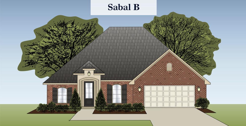 Sabal floorplan B