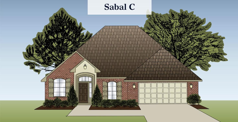 Sabal floorplan C