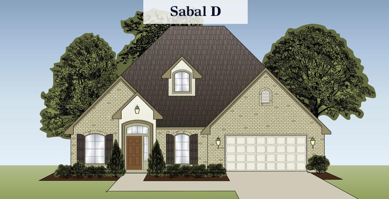 Sabal floorplan D