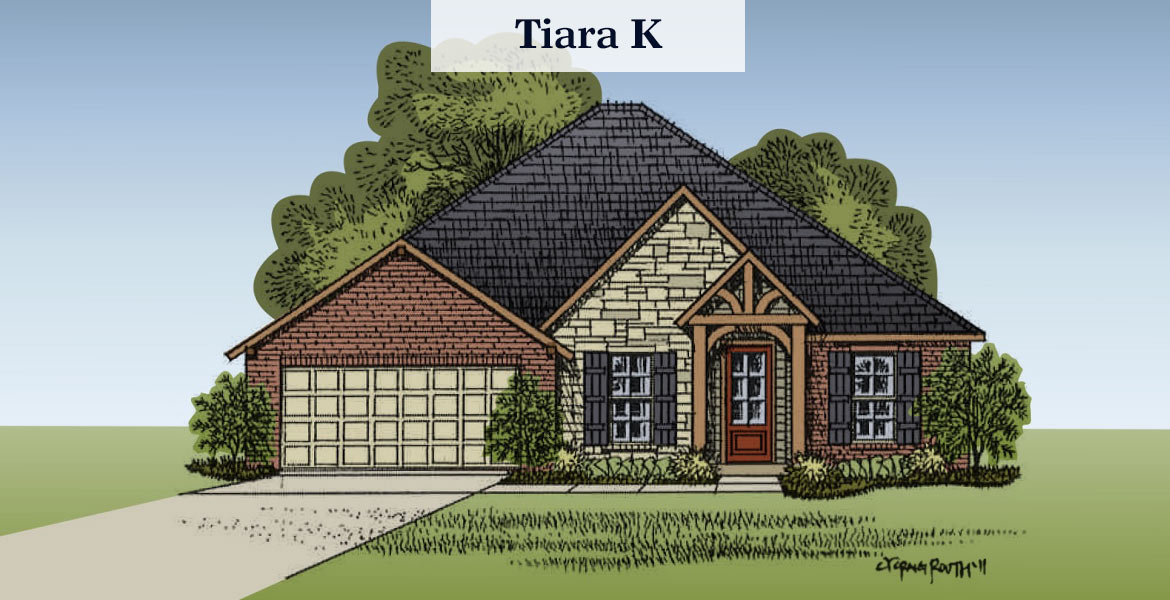 Tiara floorplan K